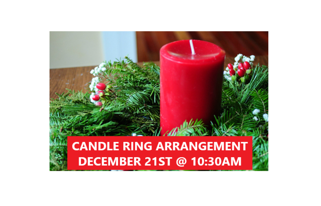 Candle Arrangement Class in Aberdeen