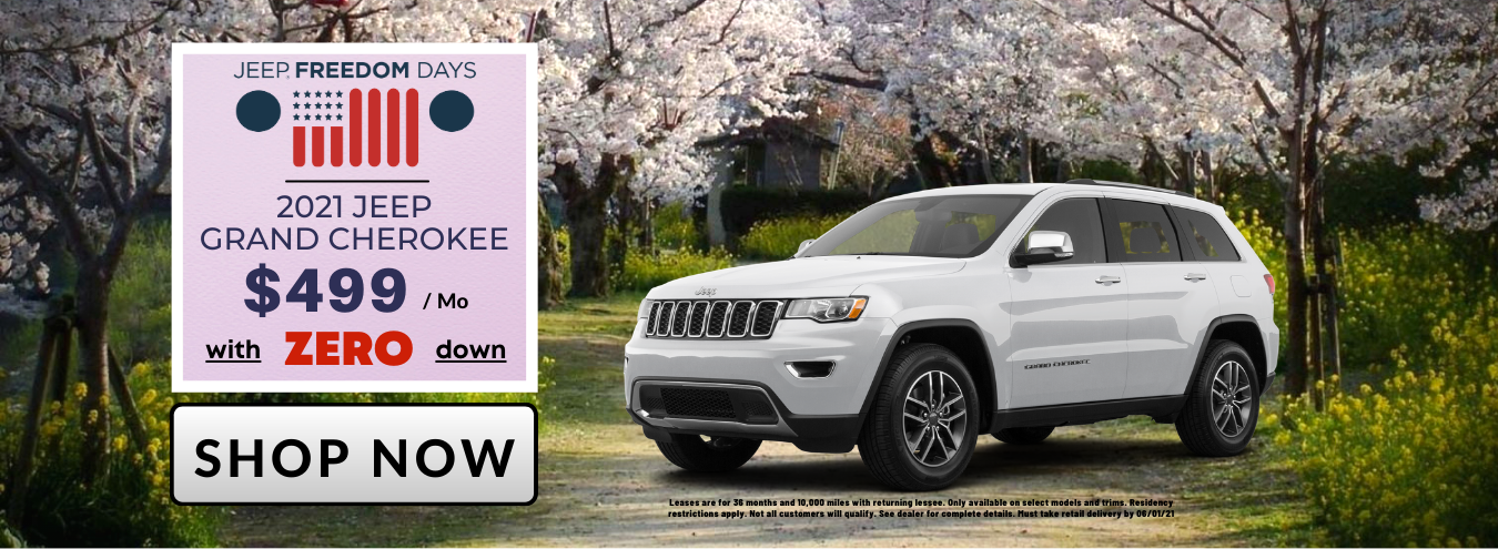 New 2021 Jeep Grand Cherokee for Sale