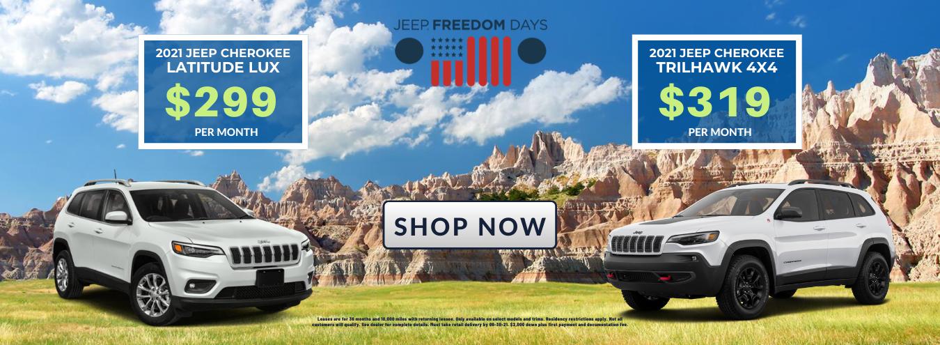 New Jeep Cherokee SUVs