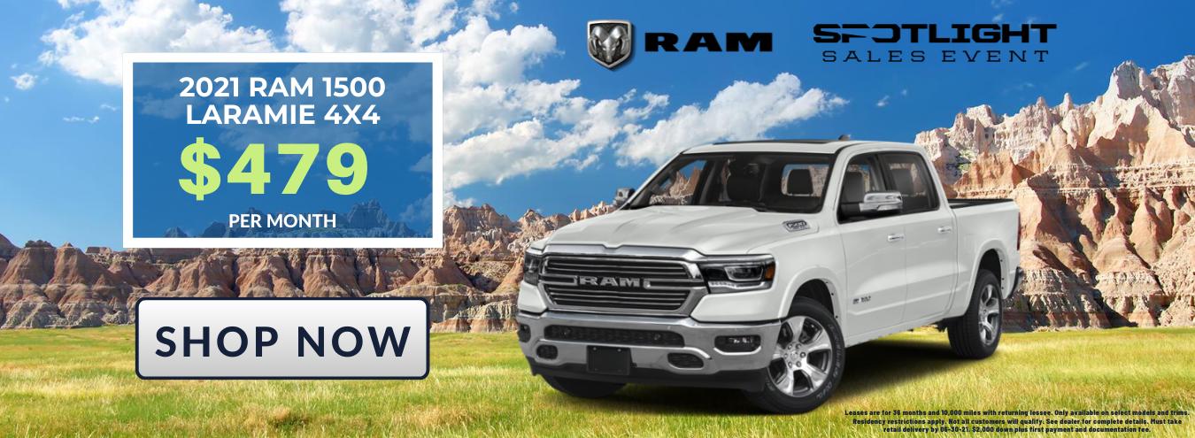 RAM 1500 Laramie Pickup Truck