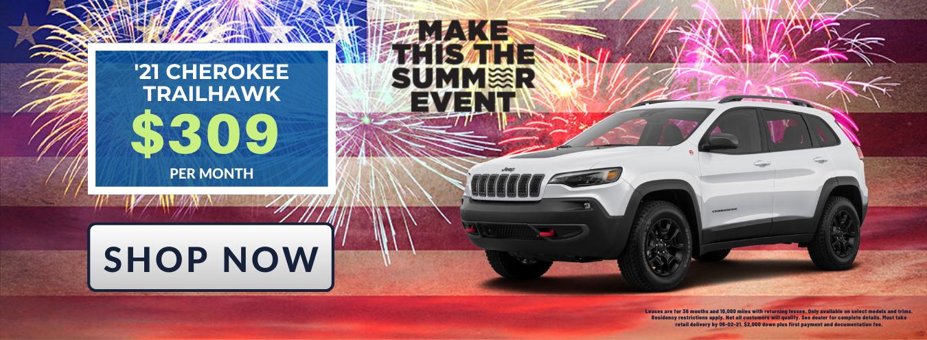 New Jeep Cherokee Inventory