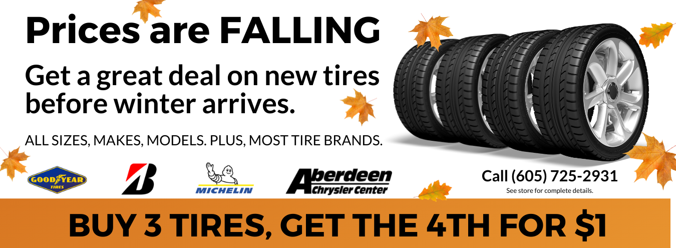 Tire Deals in South Dakota