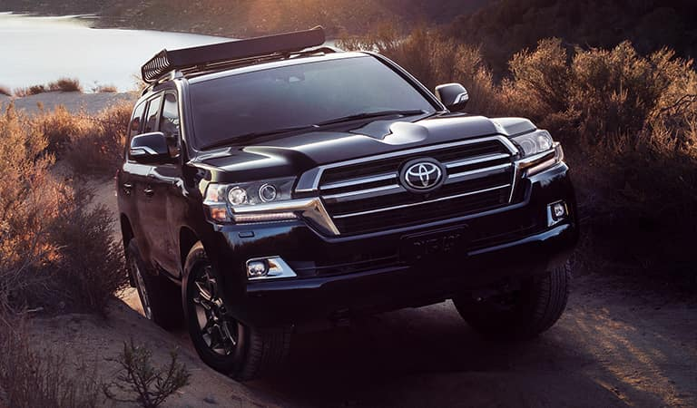 New Toyota Land Cruiser SUV