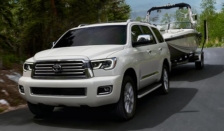 New Toyota Sequoia SUV model