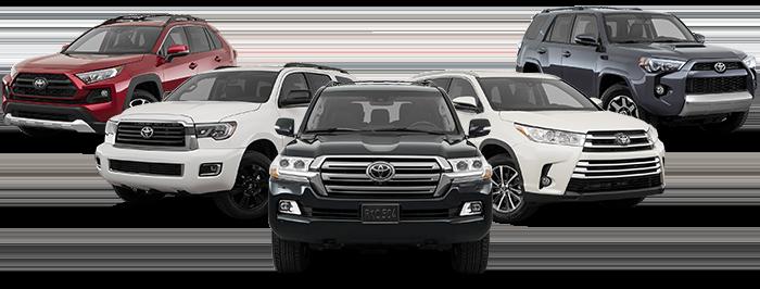 New Toyota Suv For Sale Advantage Toyota Valley Stream