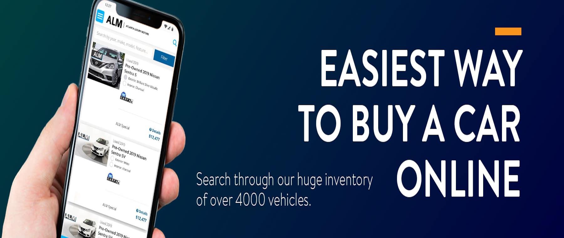 Easiest Way to Buy Car Online