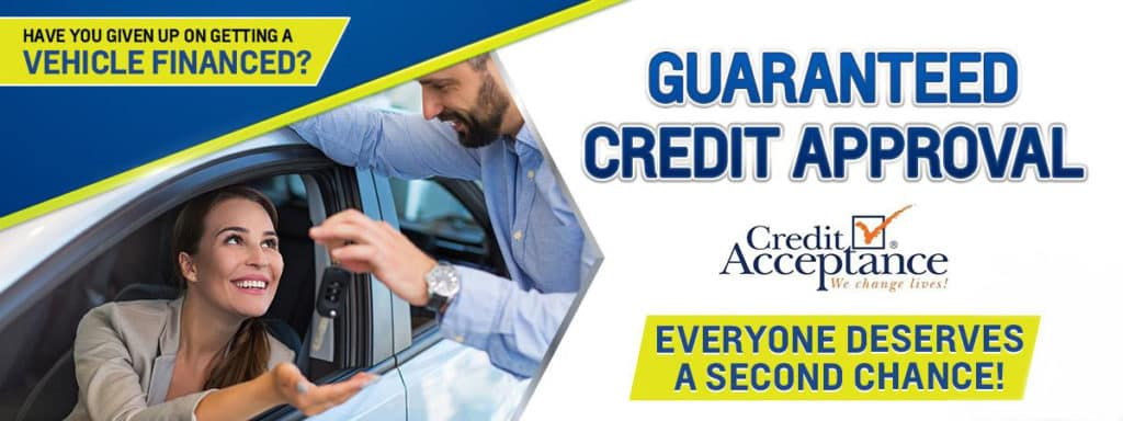 Guaranteed Credit Approval Anderson Ford Of Clinton