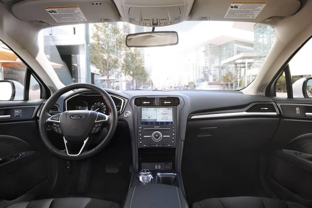 2020 Ford Fusion Dash