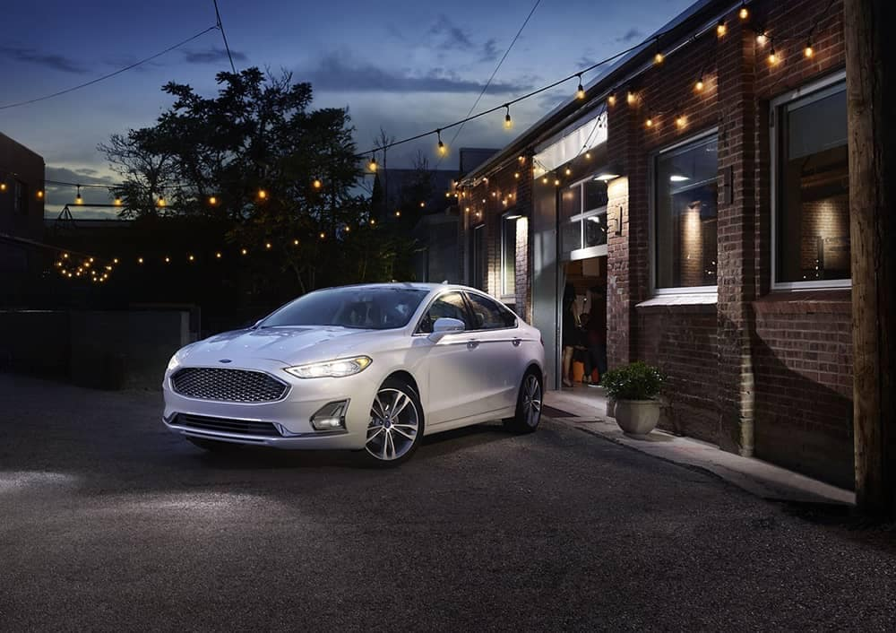 2020 Ford Fusion In Courtyard