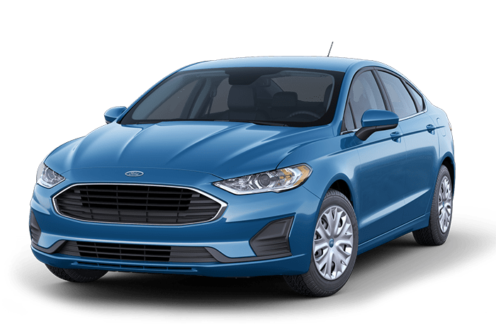 2020 Ford Fusion Blue