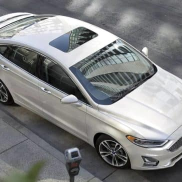 2020 Ford Fusion Top View