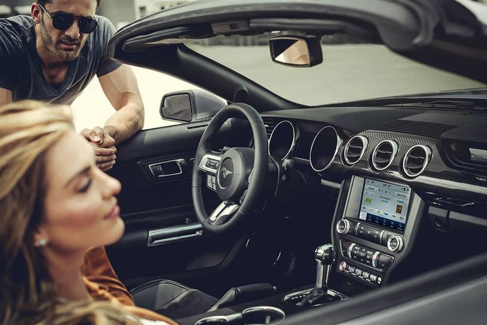 2020 Ford Mustang Convertible Interior
