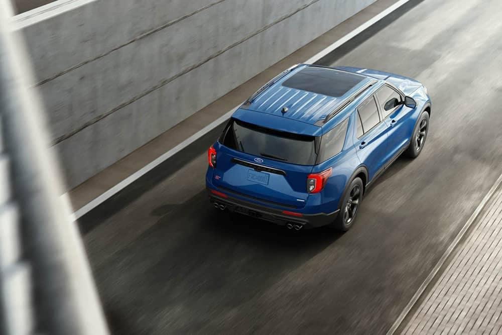 2020 Ford Explorer Rear Top