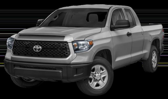 Gray Toyota Tundra