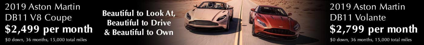 2019 DB11 Coupe & Volante