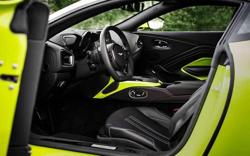 Aston Martin Vantage Cockpit