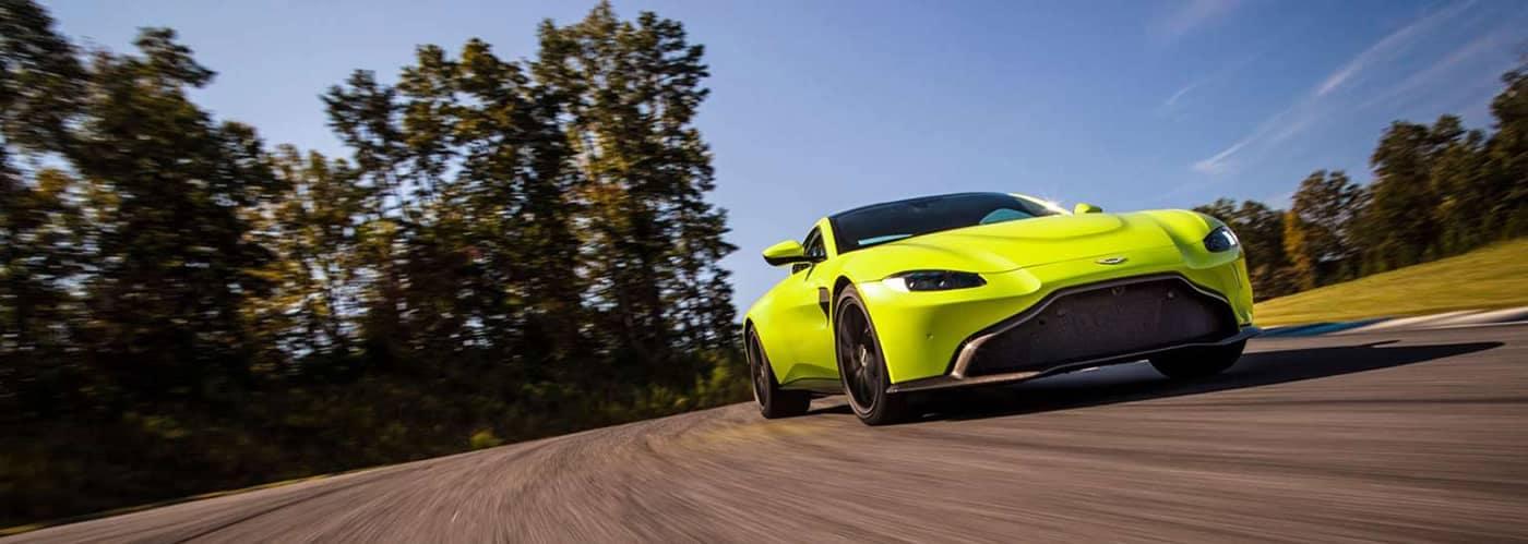 Aston Martin Vantage Driving
