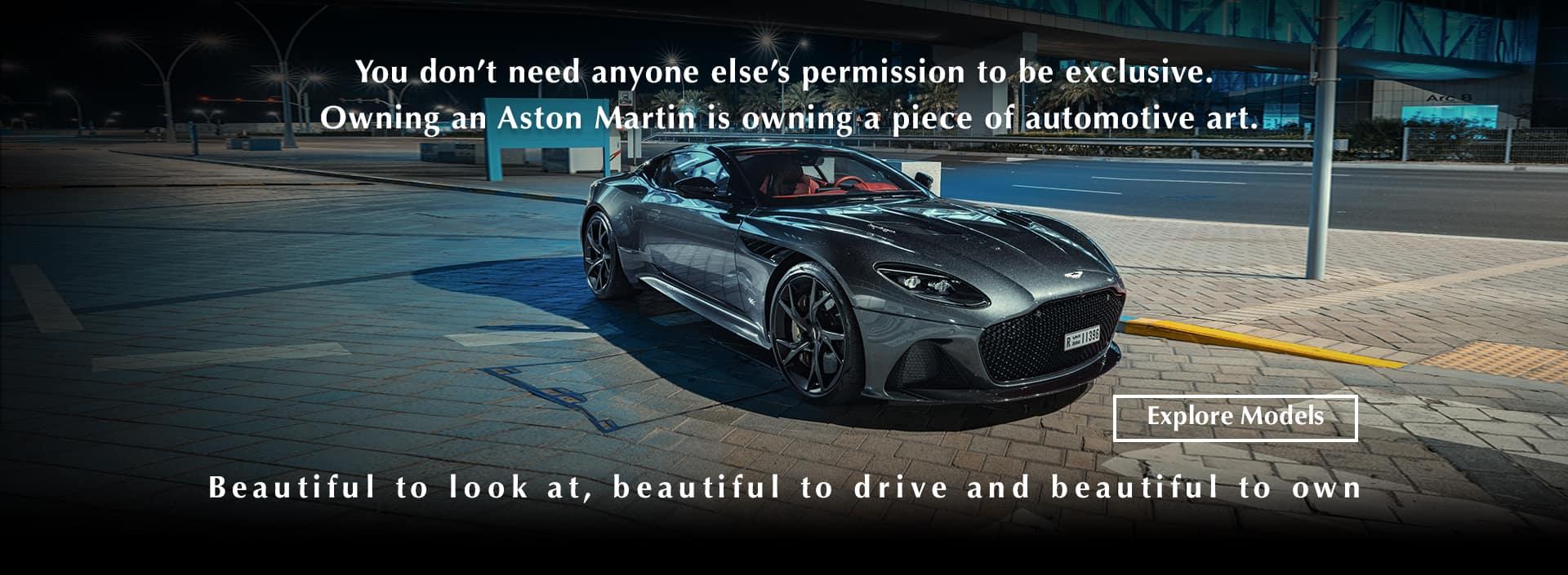 Aston Martin Automotive Art