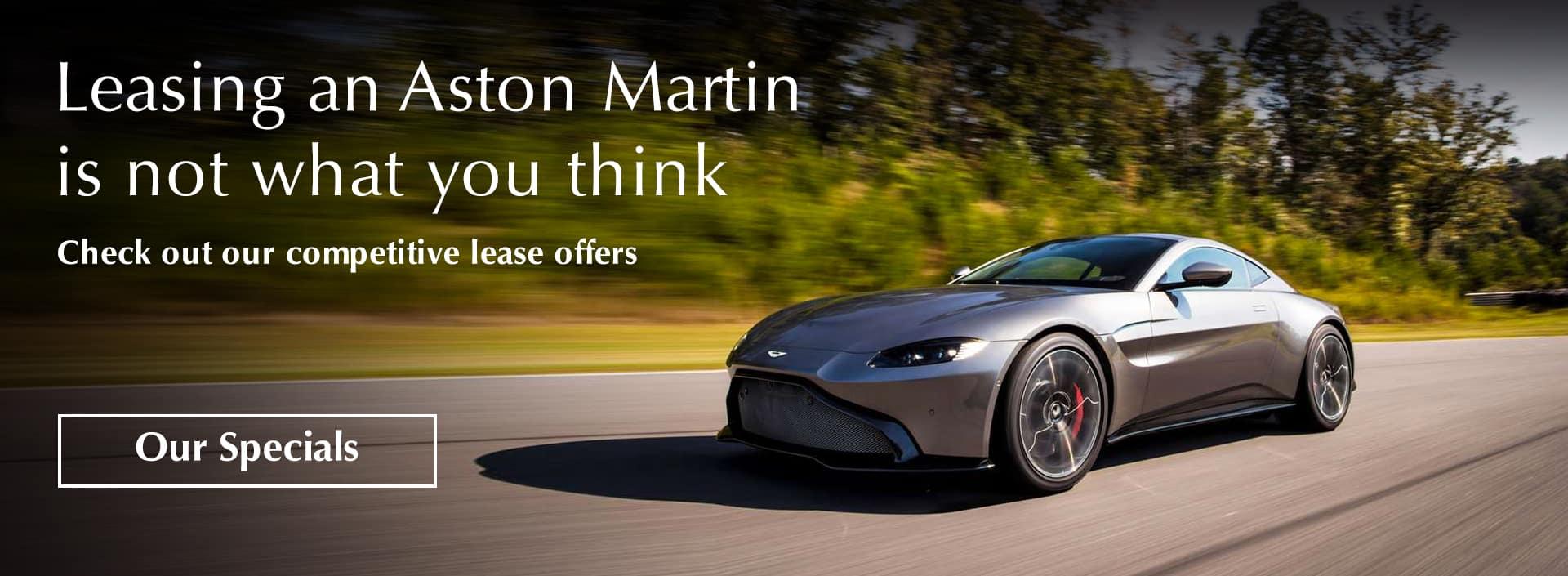 Aston Martin Lease Specials
