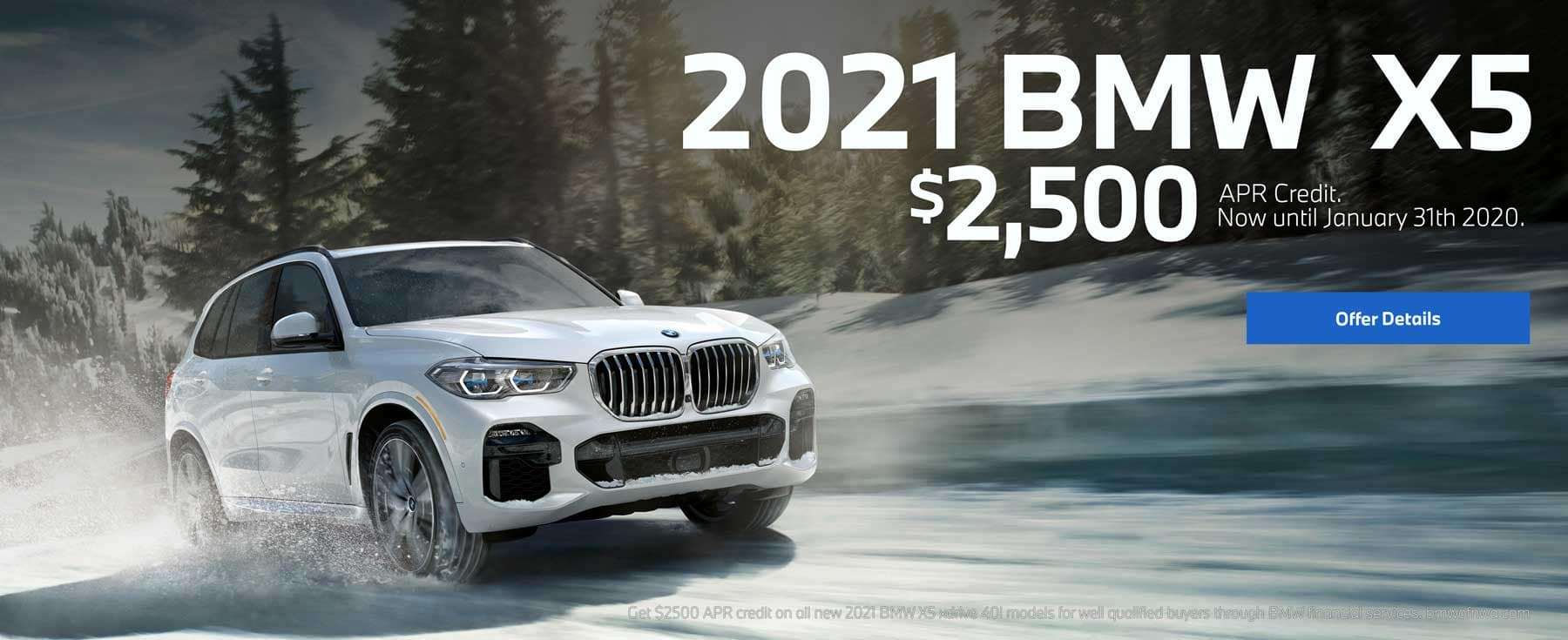 2021 bmw X5 $2500 apr cedit