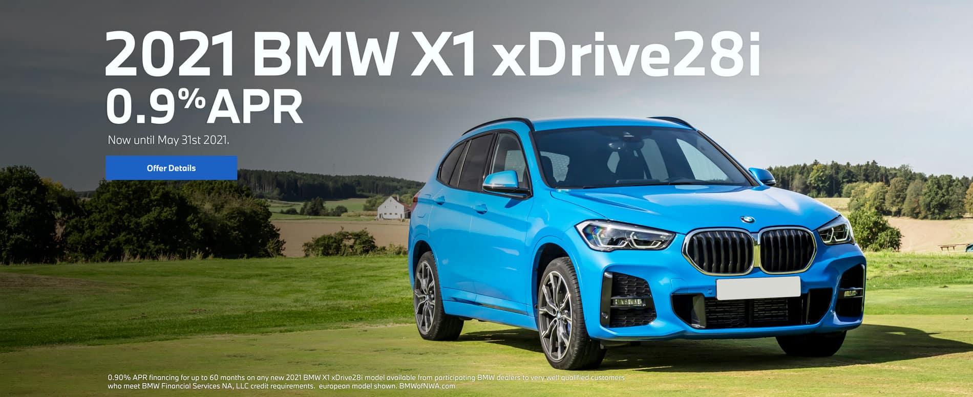 2021 X1 xDrive28i 0.9% APR