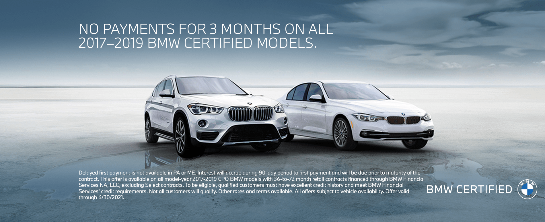 Certifed BMW offer
