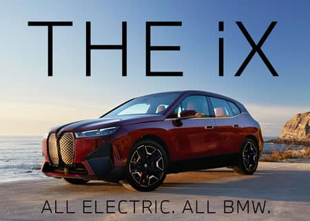 The iX All Electric. All BMW