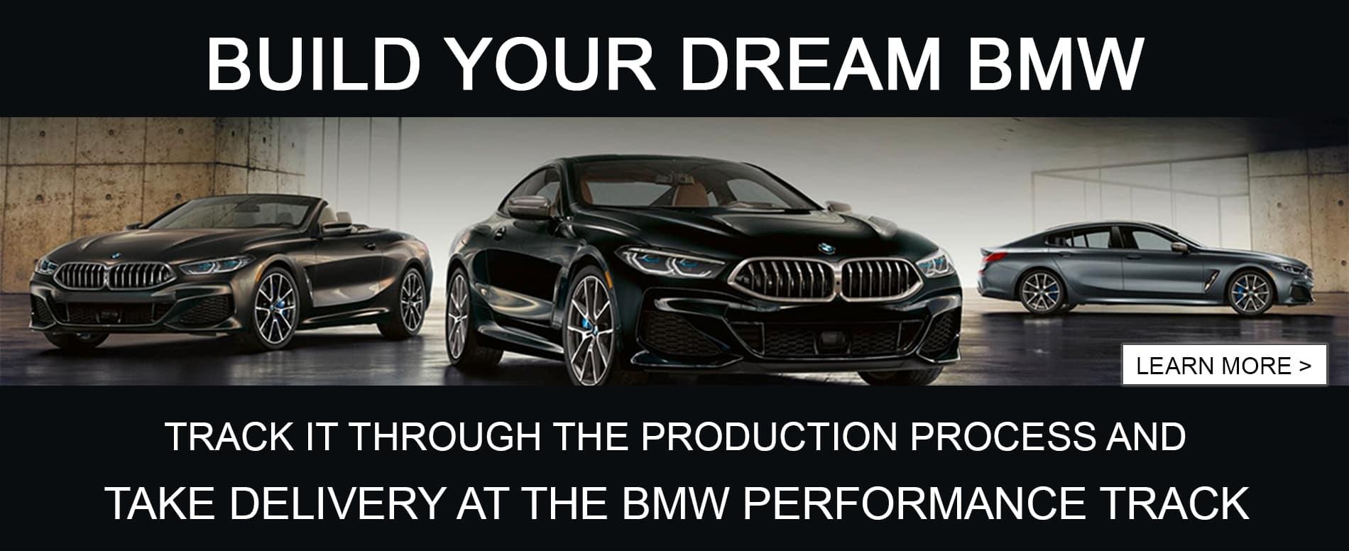 dark 2021 new BMWs build your dream car