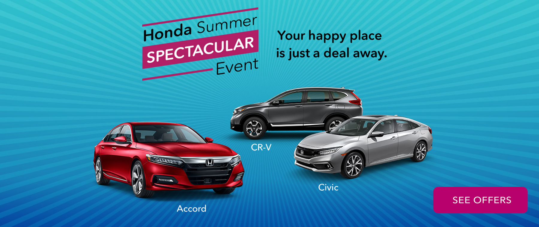 Honda Summer Spectacular Sales Event