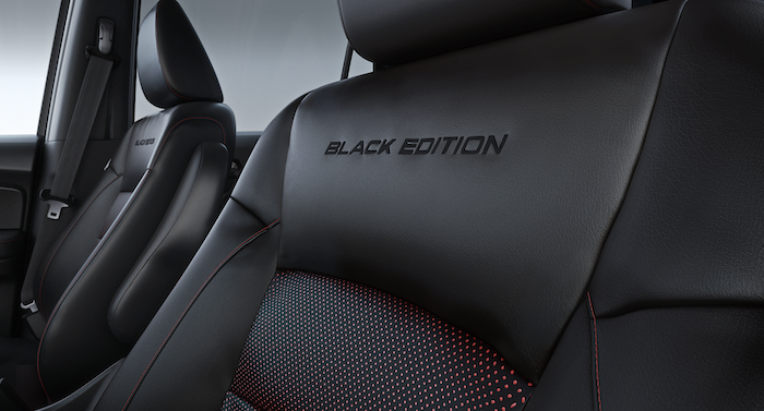What you can get to personalize your vehicle at Boch Honda in Norwood | black leather car seat