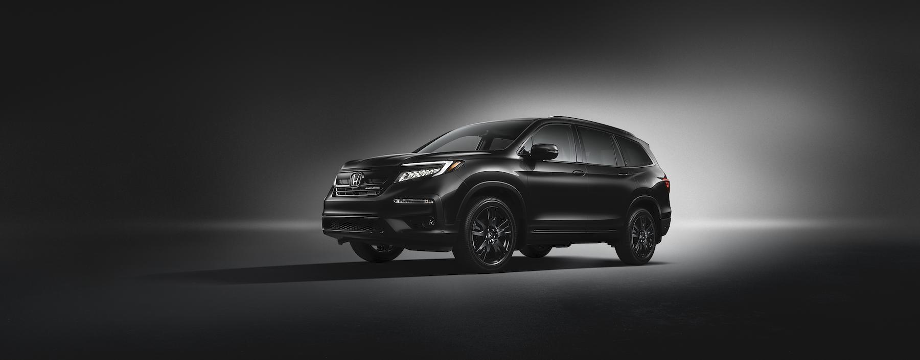 Boch Honda is a Car Dealership near Brockton MA | 2020 Honda Pilot with black background