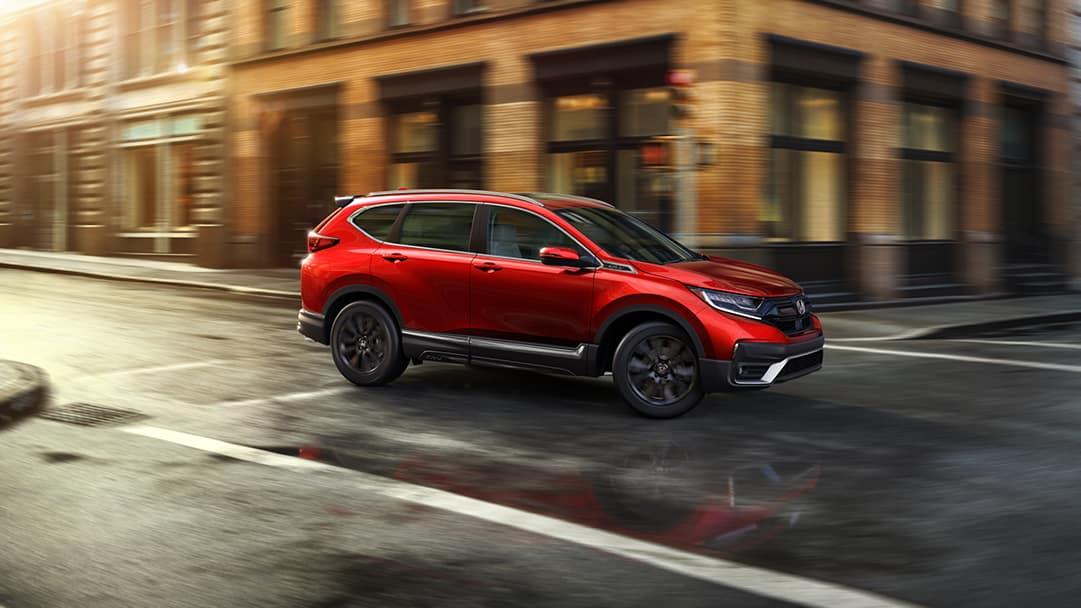 Boch Honda is a Car Dealership near Brockton MA | 2020 Honda CR-V driving down road