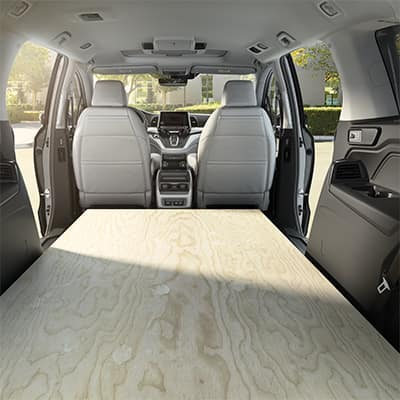 Model Features of the 2019 Honda Odyssey at Boch Honda West of Westford | the spacious interior of the odyssey