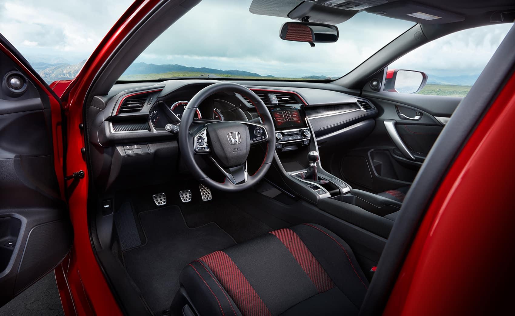 Comparison of the 2020 Civic Sedan vs. the 2020 Accord at Boch Honda West of Westford MA | the interior of the 2020 honda civic