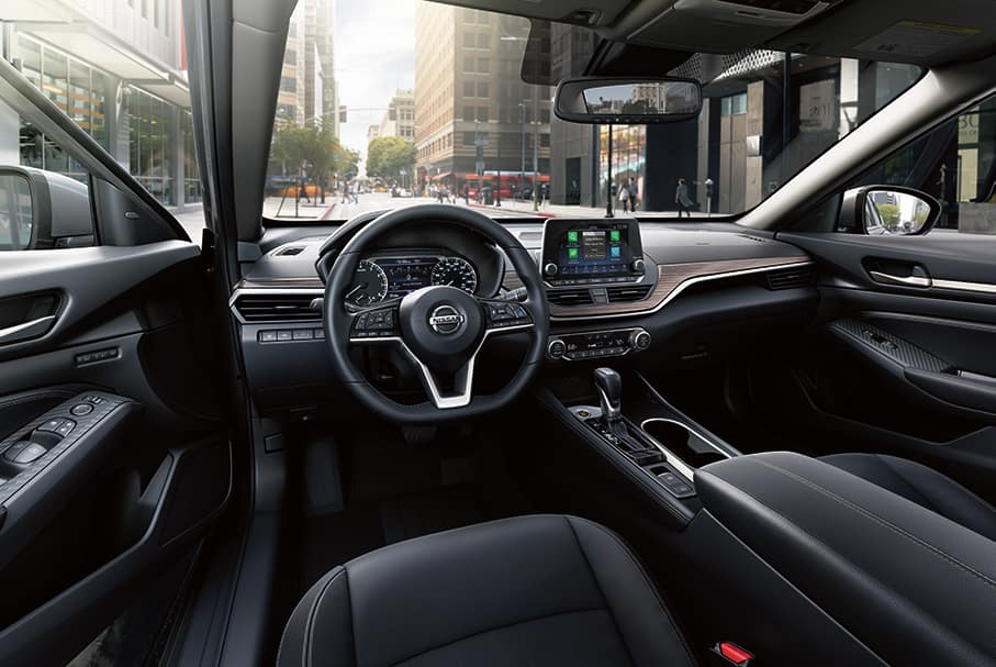 What will protect your Nissan's interior at Boch Nissan of Norwood | The interior of nissan altima