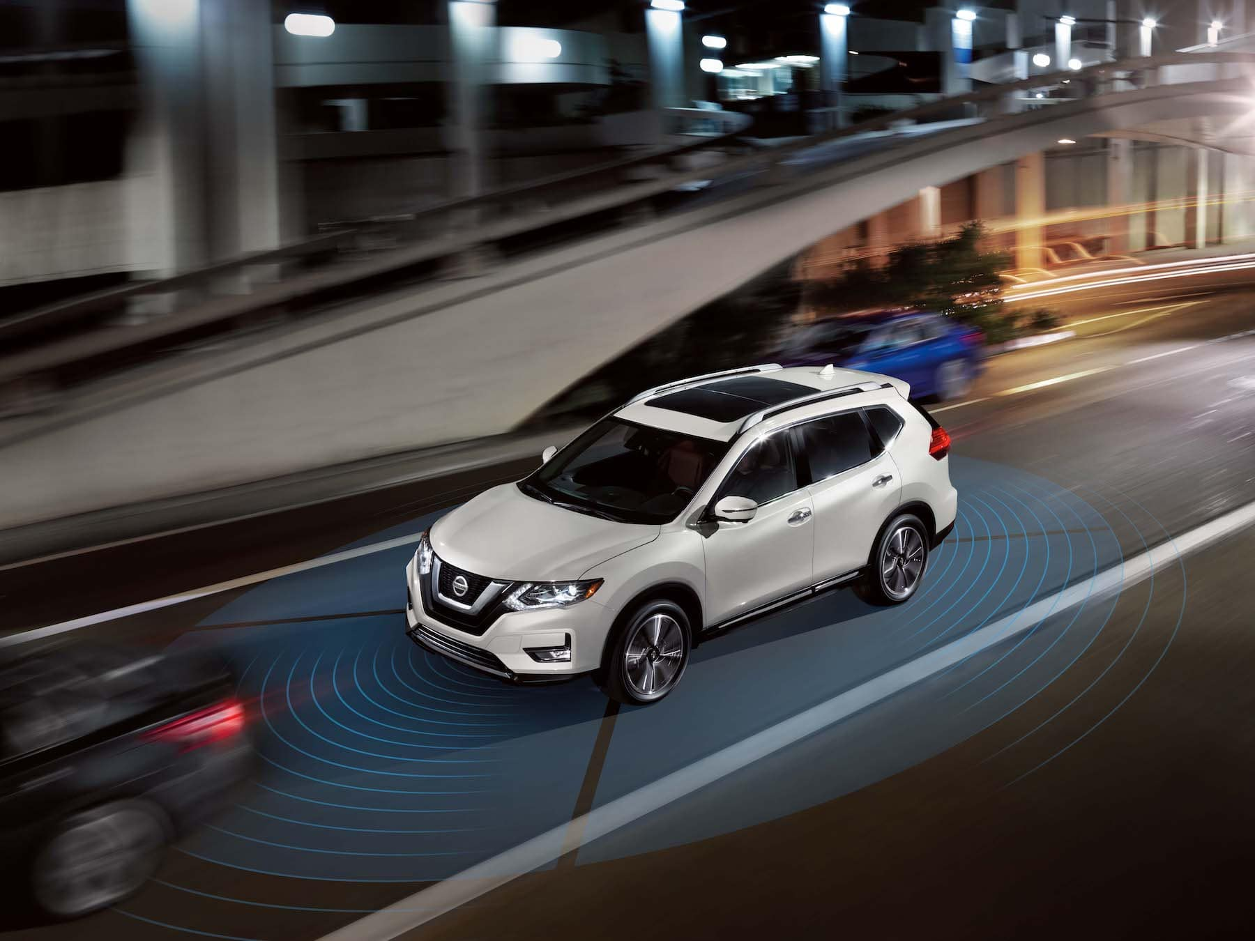The 2020 Rogue model features at Boch Nissan in Norwood | The safety feature of the 2020 Nissan Rogue