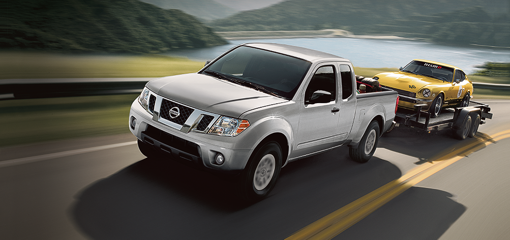 towing capacity of the 2019 Nissan Frontier at Boch Nissan South in North Attleboro