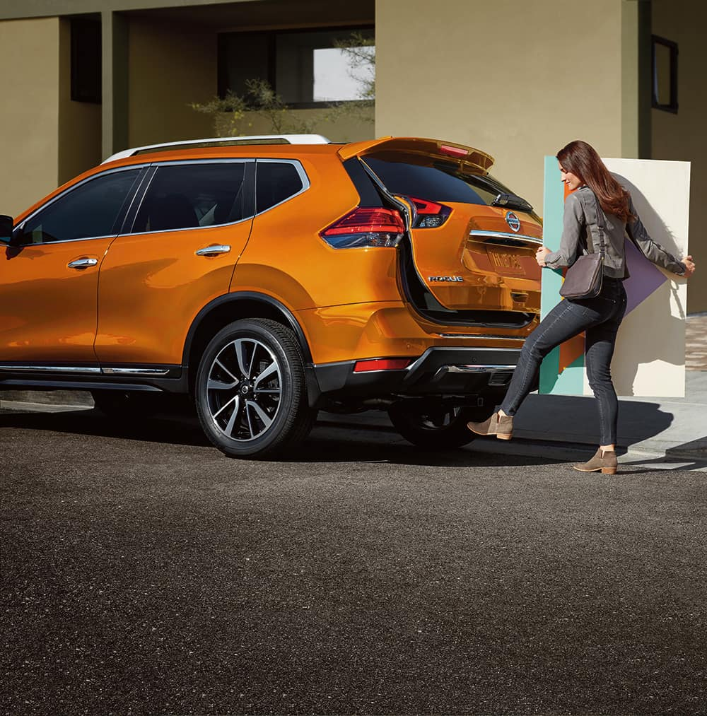 2019 Rogue performance features at Boch Nissan South in North Attleboro