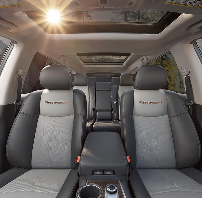 The features and trim levels of the 2019 Nissan Pathfinder | The interior of the 2019 Nissan Pathfinder