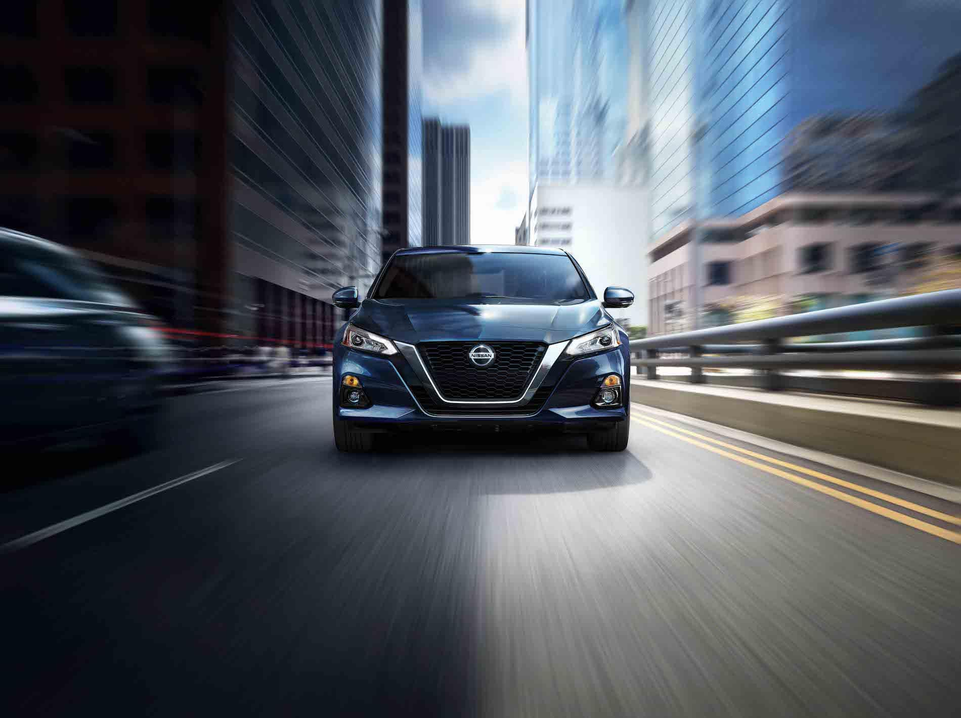 Model Features of the 2020 Nissan Altima at Boch Nissan South of North Attleborough MA | Altima Front Motion City