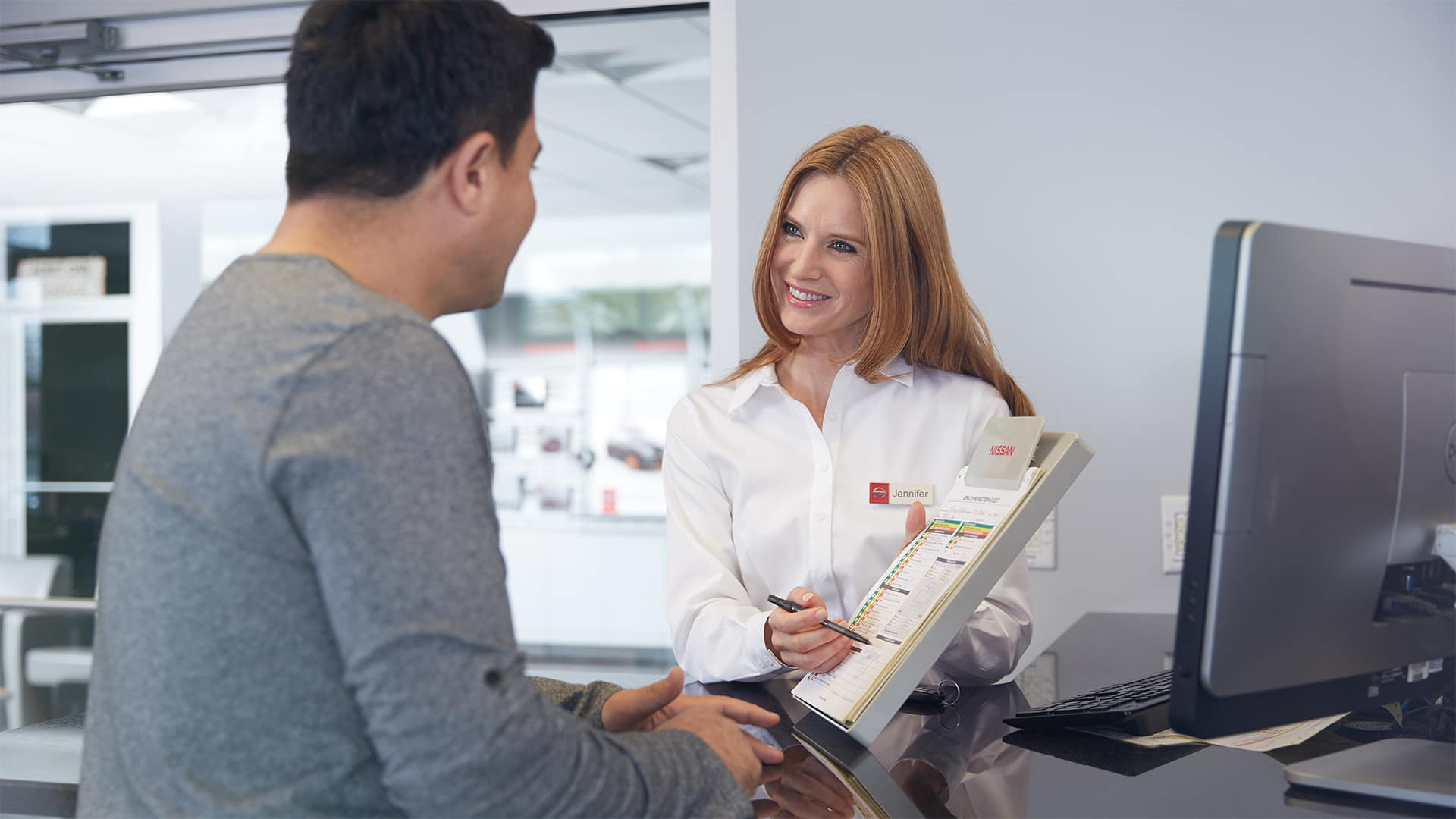 Boch Nissan South is a Family Owned Dealership near Cumberland, RI | Nissan Advisor showing customer chart