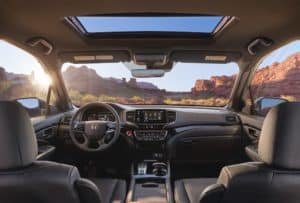 2019 Honda Passport Front Interior