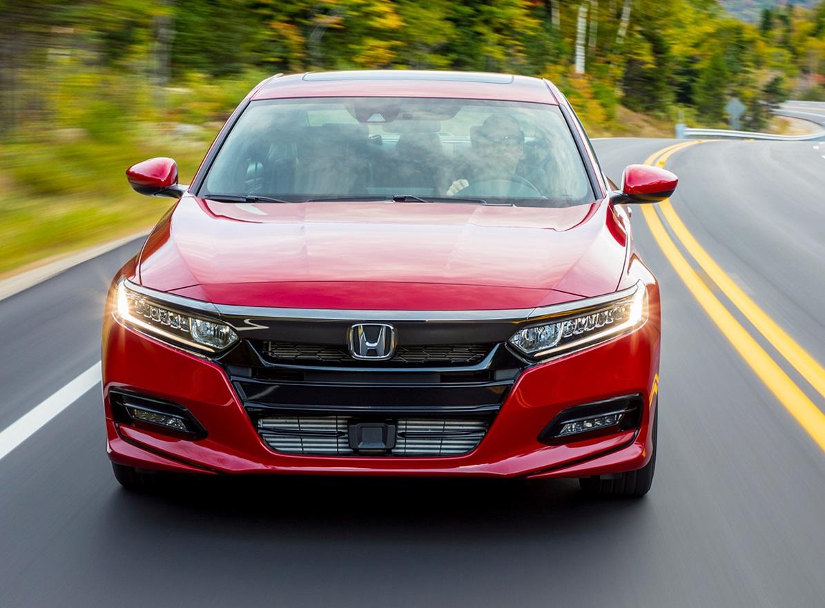 Honda Accord Red