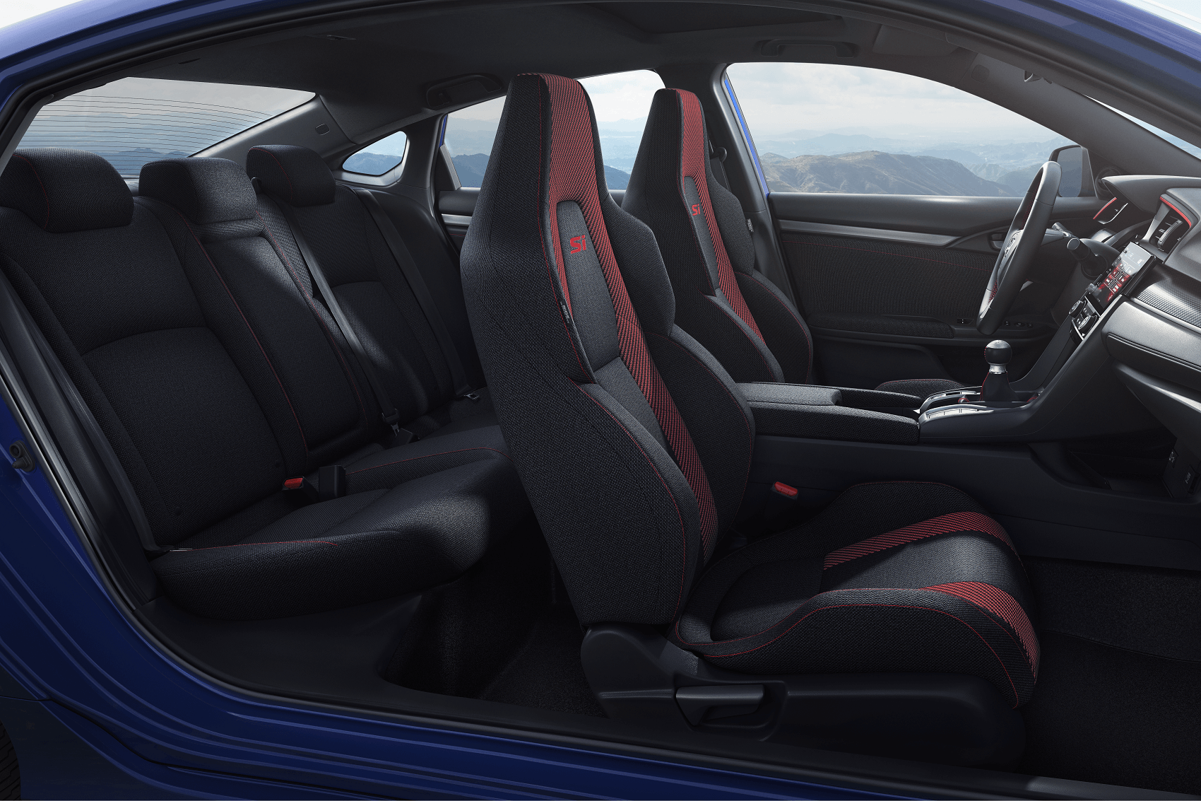 2020 Honda Civic Interior Seats