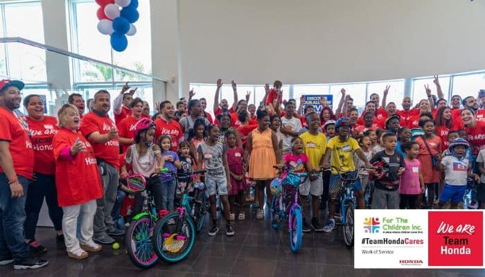 Braman Honda - Volunteer Week