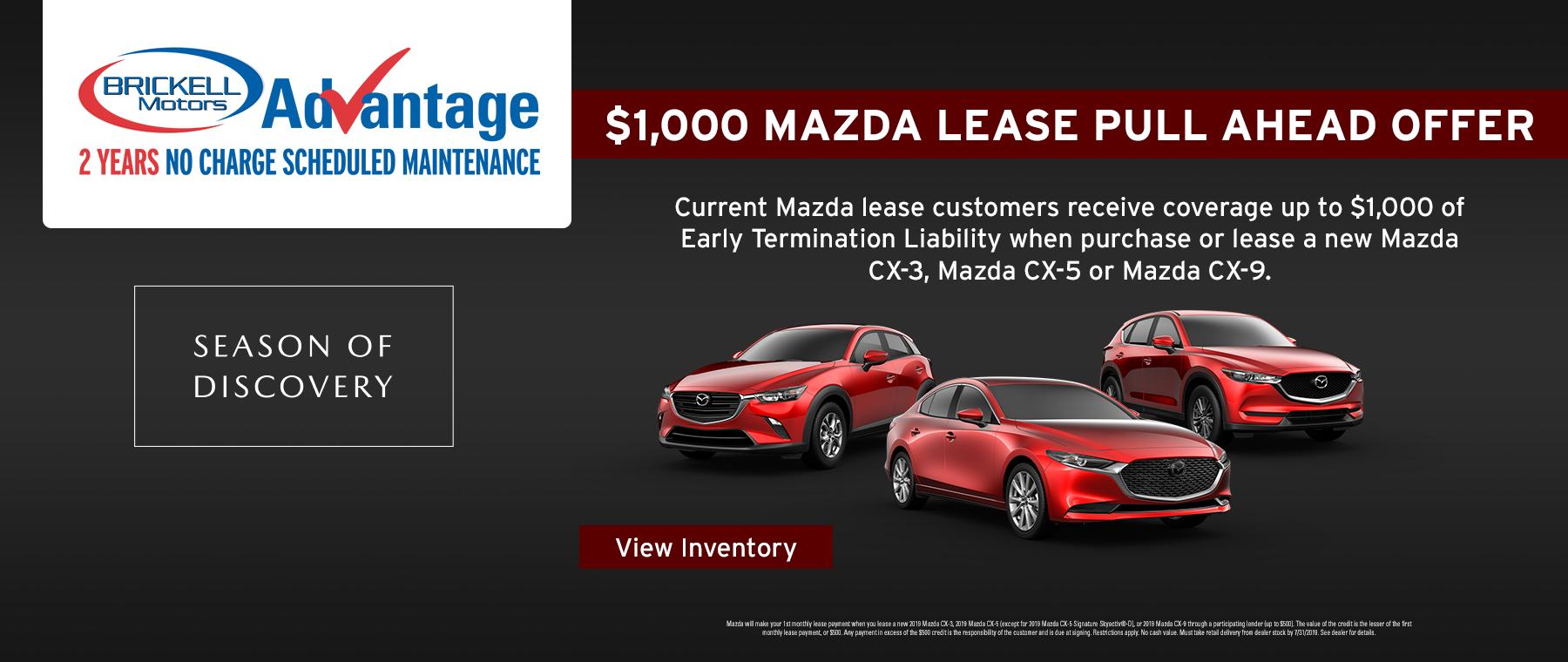 Mazda Lease Offer