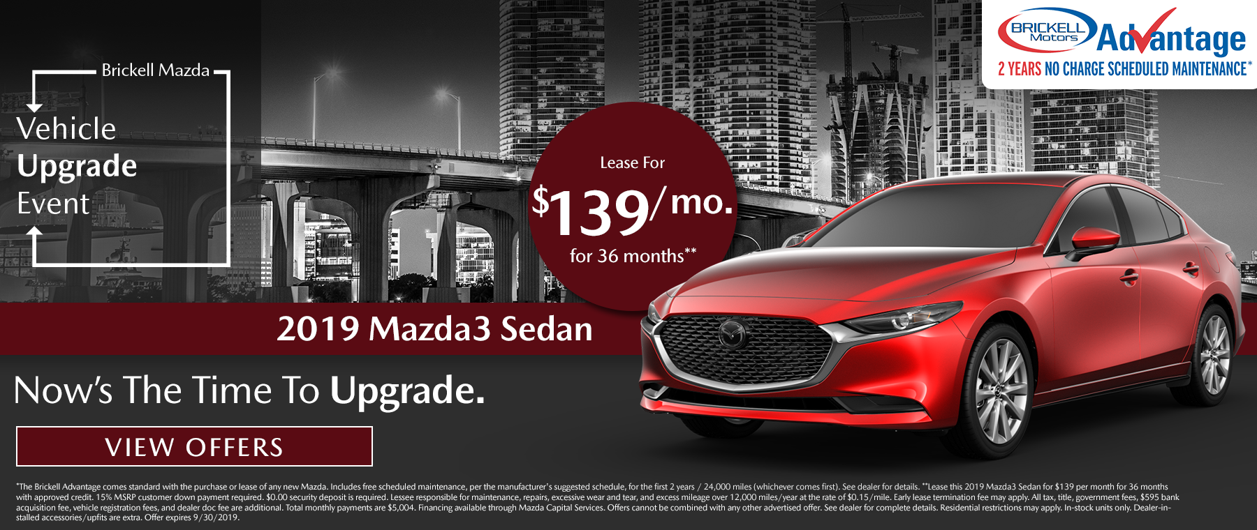 Brickell Mazda Mazda3