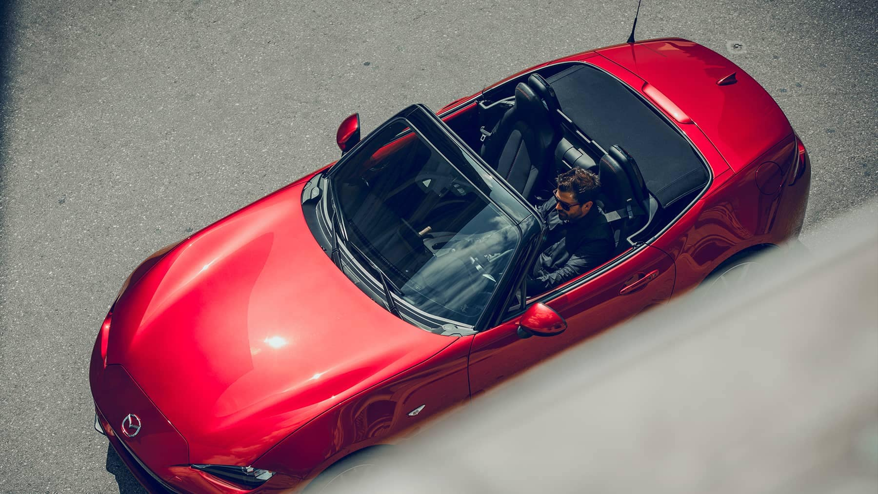 2019 Mazda MX-5 Miata Top view