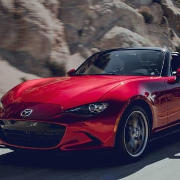 2019 Mazda MX-5 Miata Driving
