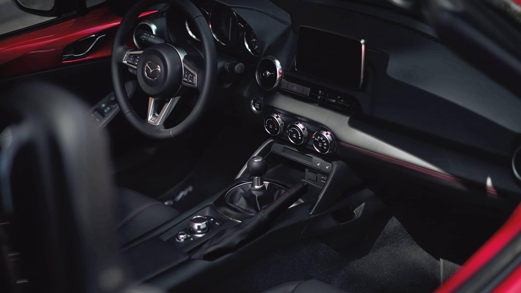 2019 Mazda MX-5 Miata Dash